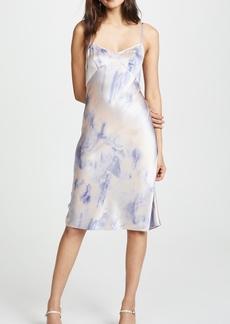 Only Hearts Silk Dip Dye Slip Dress