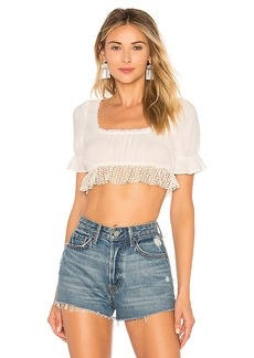 Only Hearts Square Neck Crop Top