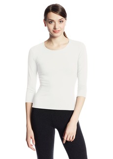 Only Hearts Women's 3/4 Sleeve Delicious Crew-Neck T-Shirt -  - Cream