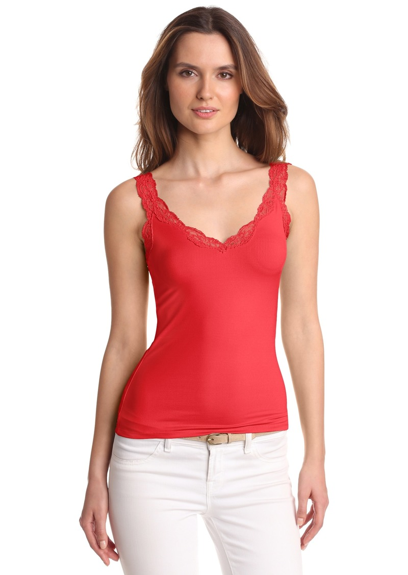 Only Hearts Women's Delicious With Lace Deep V-Tank