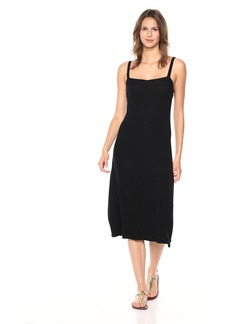 Only Hearts Women's Feather Weight Rib Square Neck Gown