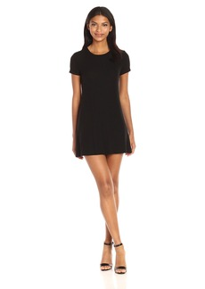 Only Hearts Women's Feather Weight Rib Tee Dress  M