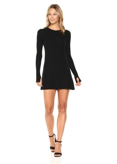 Only Hearts Women's Feather Weight Rib Tee Dress  S