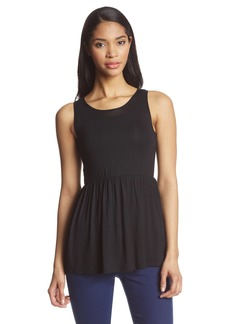Only Hearts Women's Featherweight Babydoll Cutaway Tank
