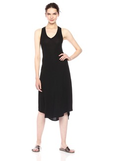 Only Hearts Women's Featherweight Rib V-Neck Racer Gown  S