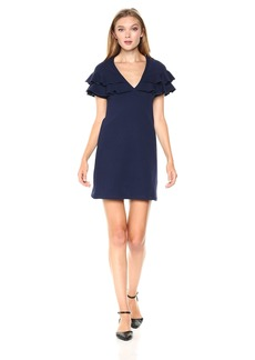 Only Hearts Women's French Terry Ruffle Dress  L