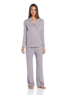 Only Hearts Women's Heritage Print Two-Piece Pajamas
