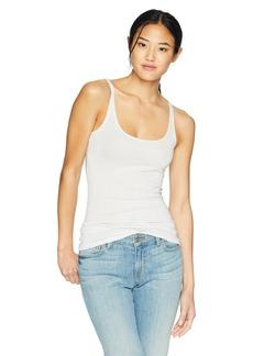 Only Hearts Women's Metallic Jersey Skinny Tank Top