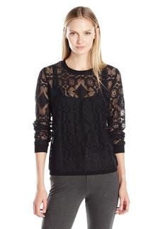 Only Hearts Women's Mosaic Lace Sweatshirt