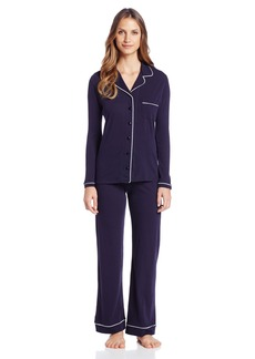 Only Hearts Women's Organic Cotton Piped Pajamas
