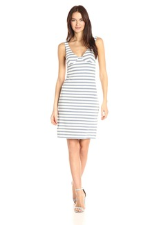 Only Hearts Women's Recycled Stripe Underwire Tank Dress  S