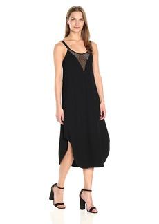 Only Hearts Women's So Fine Crochet Trim Slip Dress  M