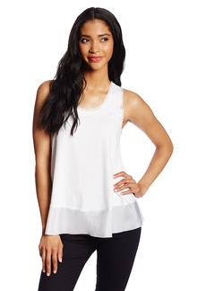 Only Hearts Women's So Fine Racer Back Tank with Silk