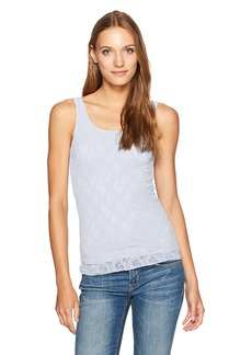 Only Hearts Women's Stretch Lace Low Back Tank  S