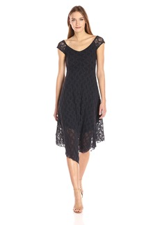 Only Hearts Women's Stretch Lace Off The Shouldre Dress  S