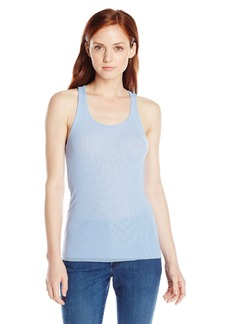 Only Hearts Women's Tulle Racer Back Tank 2 Ply