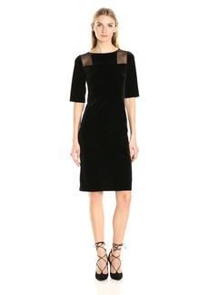 Only Hearts Women's Velvet Column Dress  L