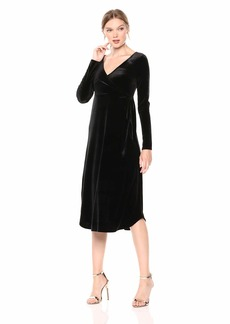 Only Hearts Women's Velvet Underground Shirt Tail Wrap Dress