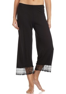 Only Hearts Women's Venice Cropped Pants W/Lace