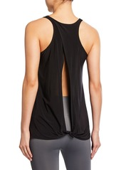 Onzie Crewneck Tie-Back Tank Top