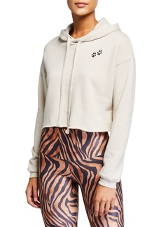 Onzie Cropped Hooded Sweatshirt