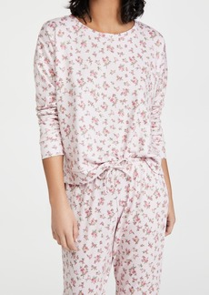 Onzie High Low Floral Sweatshirt