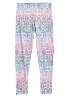 Onzie Rainbow Snakeskin Print High Waist Leggings