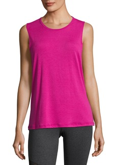 Onzie Twist Open-Back Muscle Tank Top