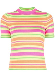 Opening Ceremony striped knitted T-shirt