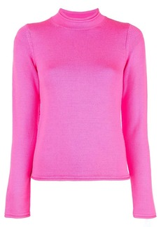 Opening Ceremony slim-fit mock neck pullover