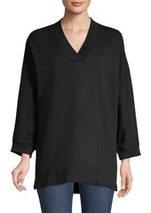Opening Ceremony Back Logo Dolman Sleeve Sweatshirt