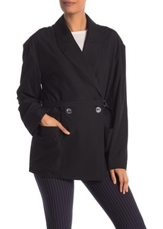 Opening Ceremony Belted Suit Jacket