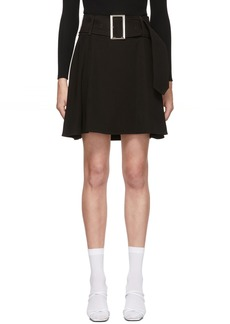 Opening Ceremony Black Buckle Skirt