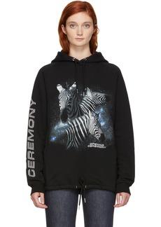 Opening Ceremony Black Cosmic Zebra Hoodie