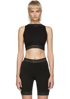 Opening Ceremony Black High Neck Tank Top