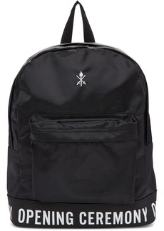 Opening Ceremony Black Logo Backpack