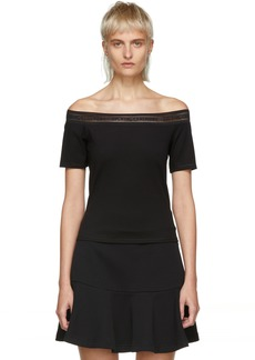 Opening Ceremony Black Off-the-Shoulder Blouse