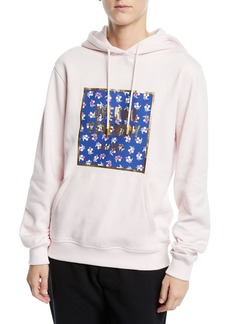 Opening Ceremony Box Logo Cotton Pullover Hoodie