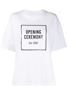 Opening Ceremony box logo loose-fit T-shirt