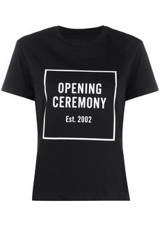 Opening Ceremony box logo slim-fit T-shirt