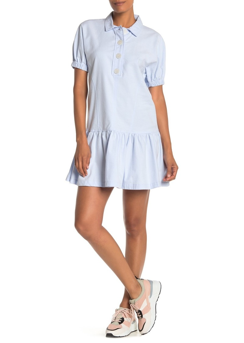Opening Ceremony Box Pleat Collared Dress