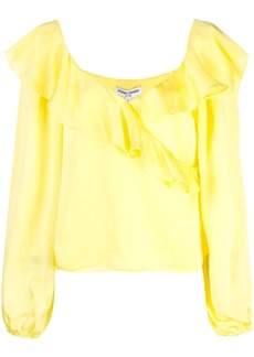 Opening Ceremony cascade wrap top