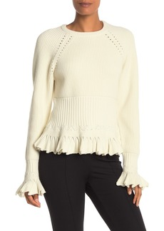 Opening Ceremony Chunky Knit Long Sleeve Sweater