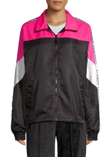 Opening Ceremony Colorblock Logo Warm-Up Jacket