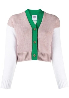 Opening Ceremony colour-block knitted cardigan