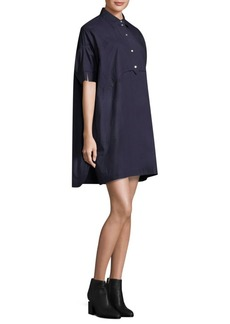 Opening Ceremony Cotton Shirtdress
