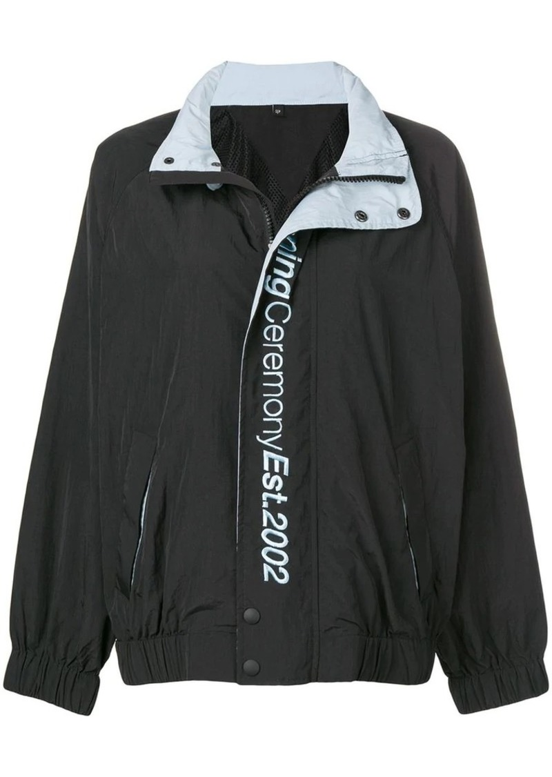 Opening Ceremony crinkle wind jacket