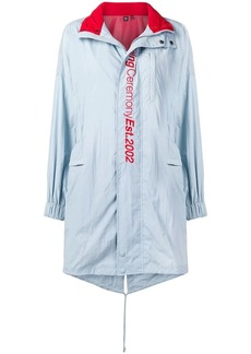 Opening Ceremony crinkled fishtail parka