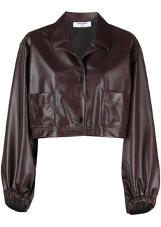 Opening Ceremony cropped button-up jacket