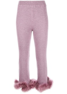 Opening Ceremony cropped knitted trousers